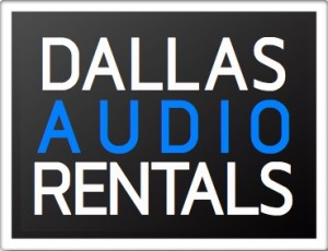 Dallas audio rentals logo
